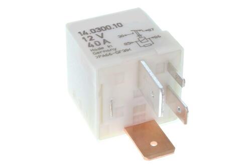 Relay, glow plug system