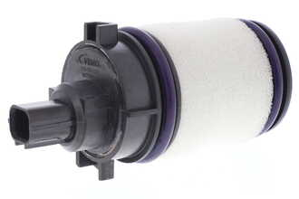 Valve, activated carbon filter