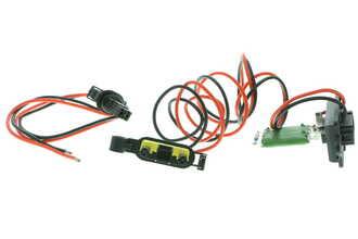 Resistencia en serie, electromotor de ventilador